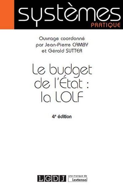 Le budget de l'État : la LOLF