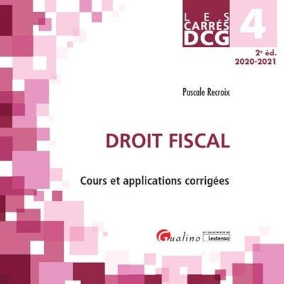 DCG 4 - Droit fiscal