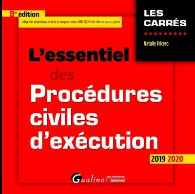 L'essentiel des procédures civiles d'exécution