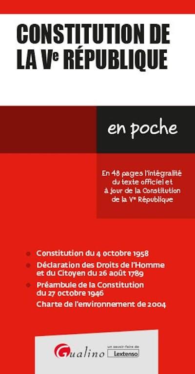 Constitution de la Ve République