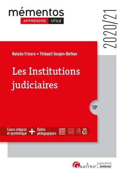 Les institutions judiciaires