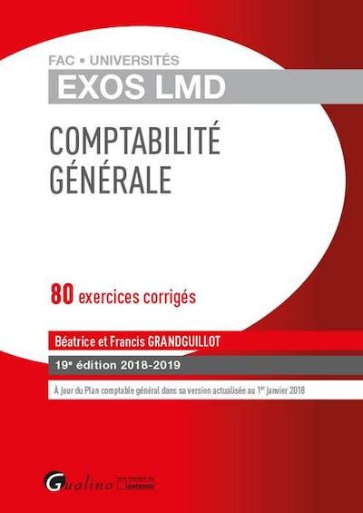 Exos LMD - Comptabilité générale