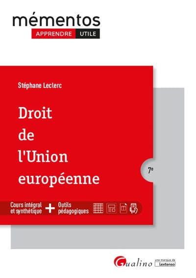 Droit de l'Union européenne