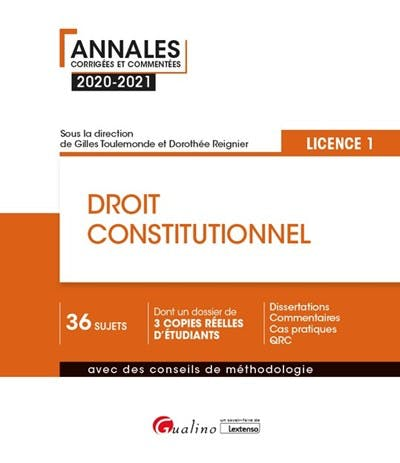 Droit constitutionnel - L1