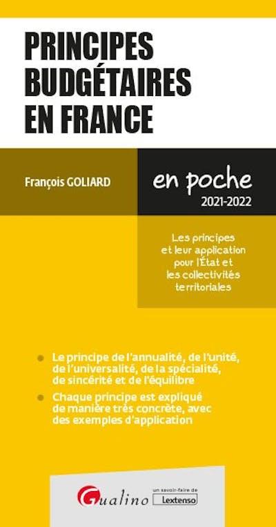 Principes budgétaires en France