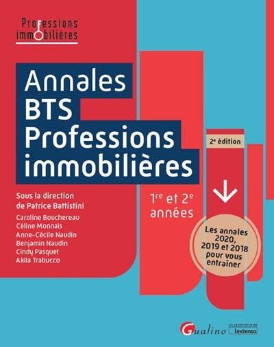 Annales BTS - Professions immobilières