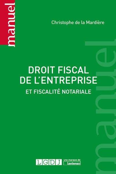 Droit fiscal de l'entreprise
