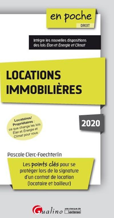 Locations immobilières