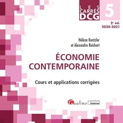 DCG 5 - Economie contemporaine