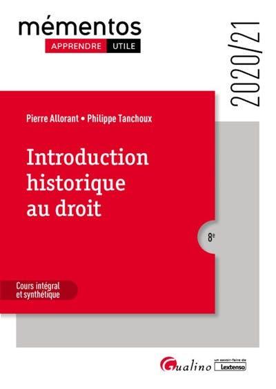Introduction historique au droit