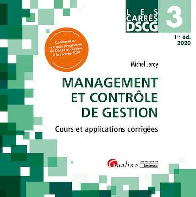 Carrés DSCG 3 - Management et contrôle de gestion