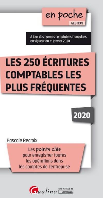 Les 250 écritures comptables les plus fréquentes