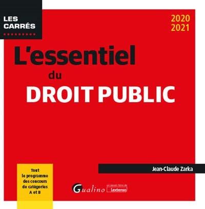 L'essentiel du droit public