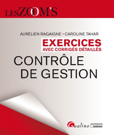 Exercices corrigés de contrôle de gestion