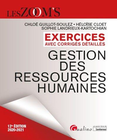 Exercices avec corrigés détaillés - Gestion des ressources humaines