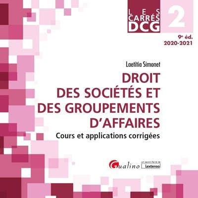 DCG 2 - Droit des sociétés et des groupements d'affaires