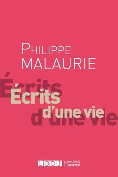 Philippe Malaurie, Ecrits d'une vie