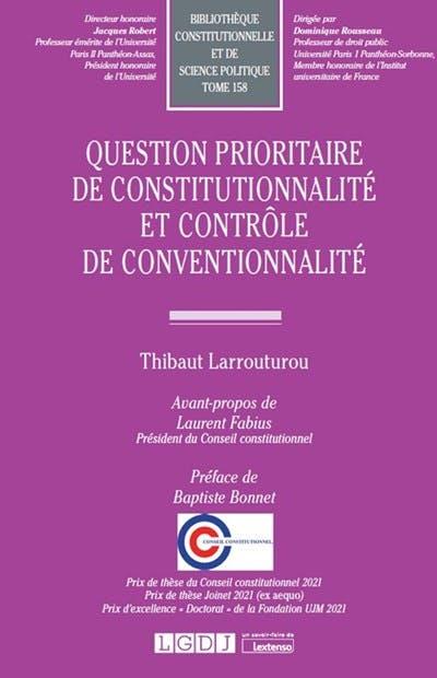 Question prioritaire de constitutionnalité et contrôle de conventionnalité