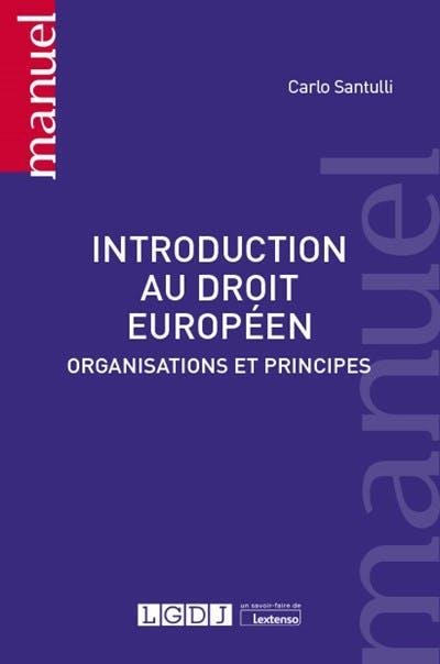 Introduction au droit européen