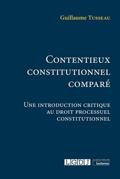 Contentieux constitutionnel comparé