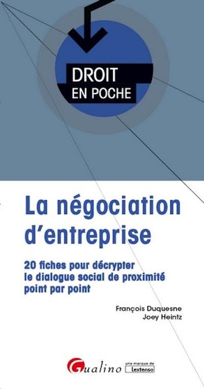 La négociation d'entreprise