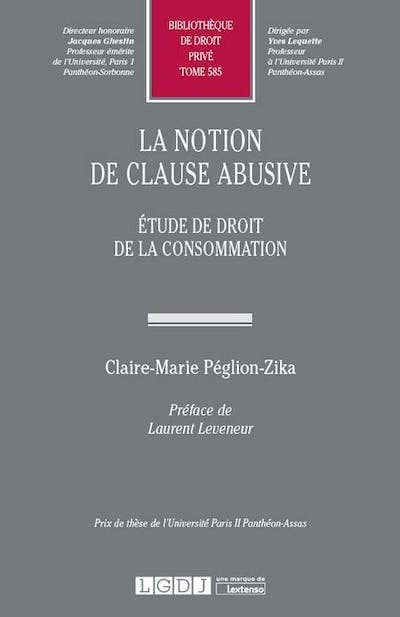 La notion de clause abusive