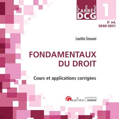 DCG1 - Fondamentaux du droit