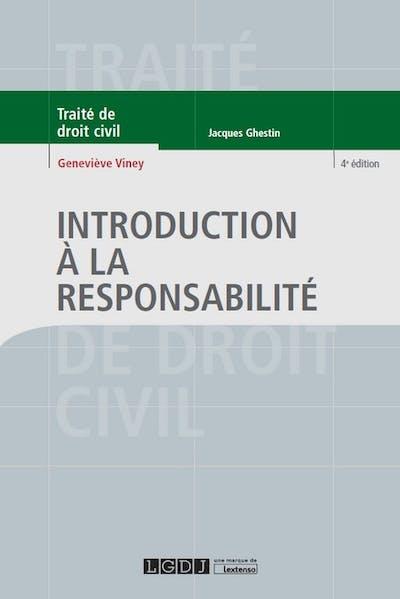 Introduction à la responsabilité