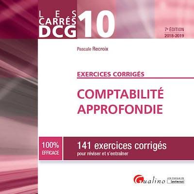Carrés Exos - DCG 10 Comptabilité approfondie